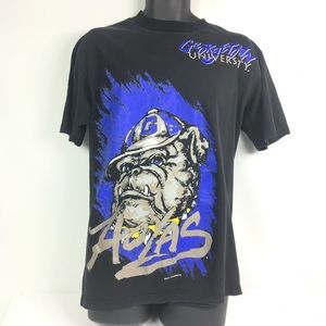 GEORGETOWN HOYAS Tee Magic Johnson T Black Purple